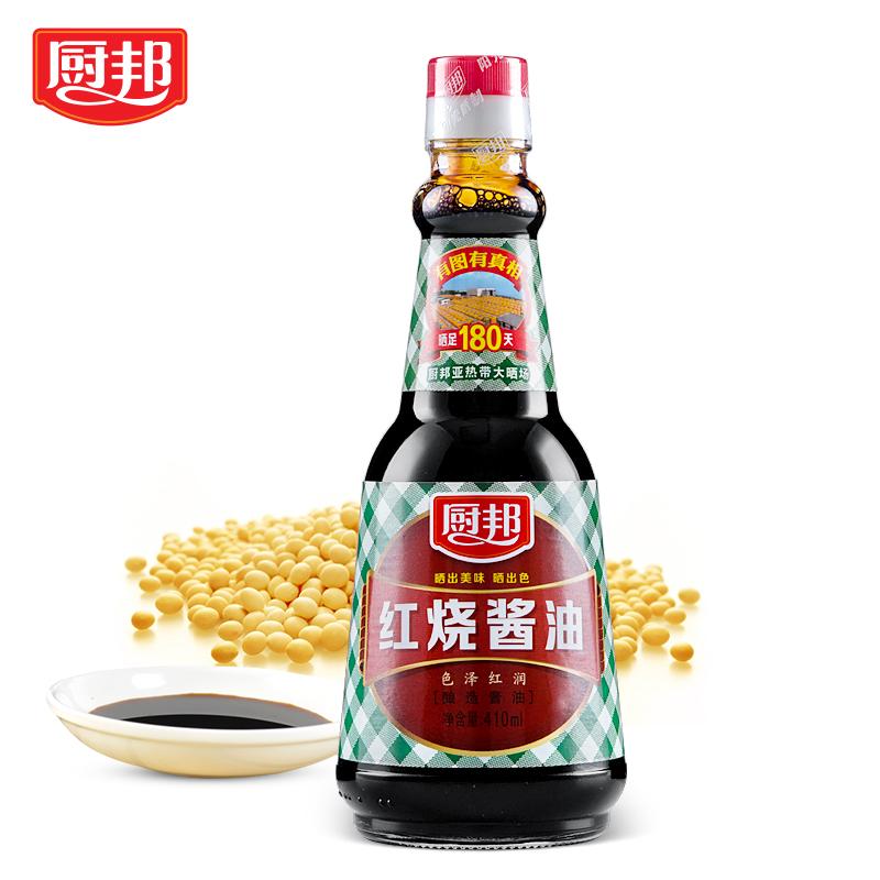 厨邦红烧酱油410ml