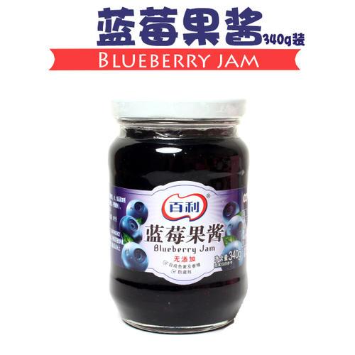 百利原味蓝莓果酱340g
