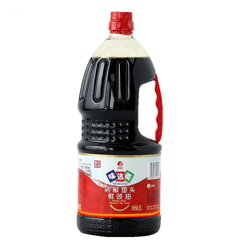 味达美剁椒鱼头鲜豉油2L